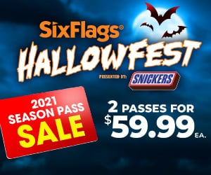 2 passes for $59.99/ea