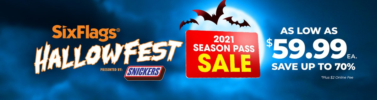 2021 Season Pass Sale
