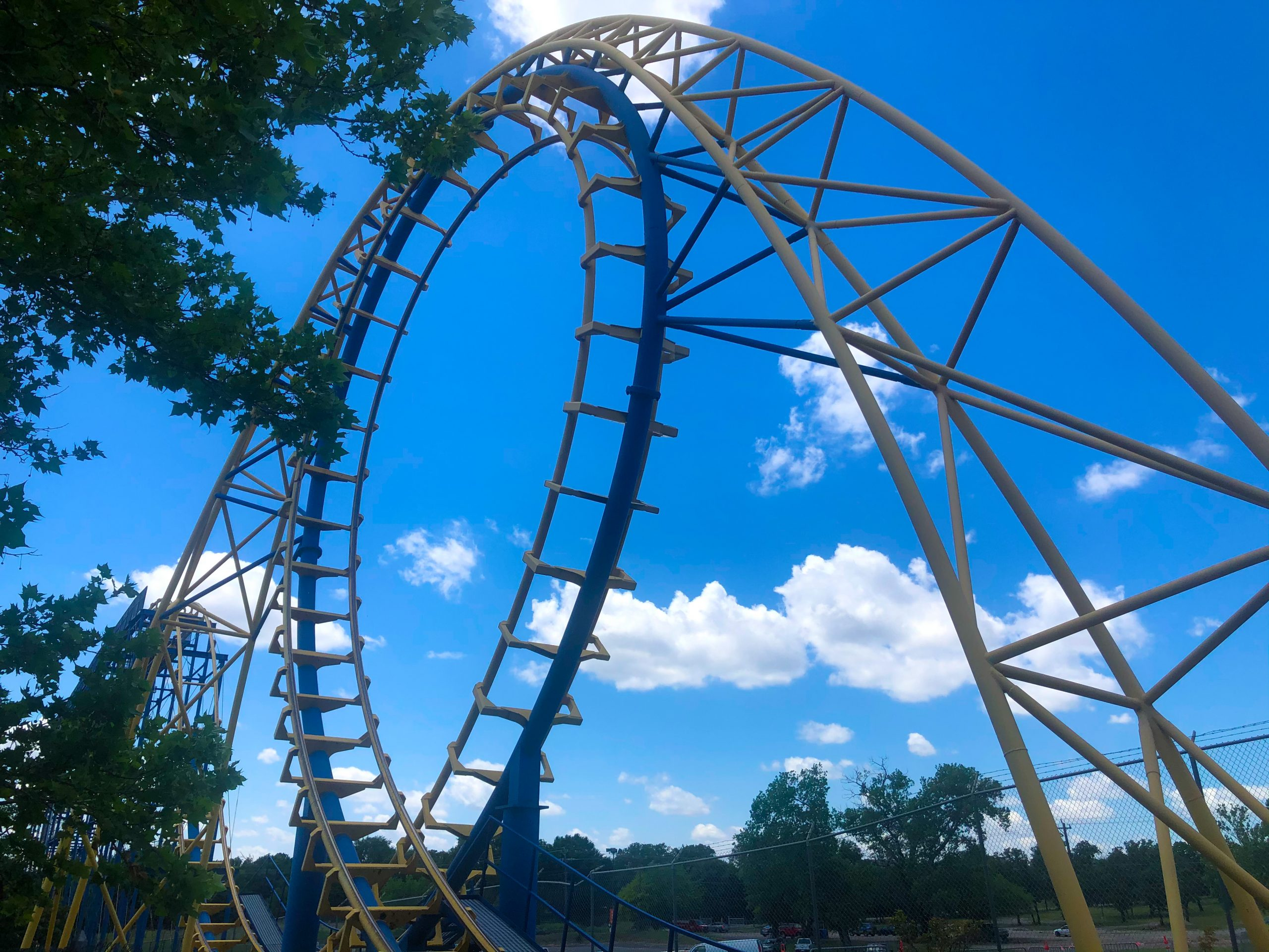diamondback is an exhilerating ride that is sure to make you scream