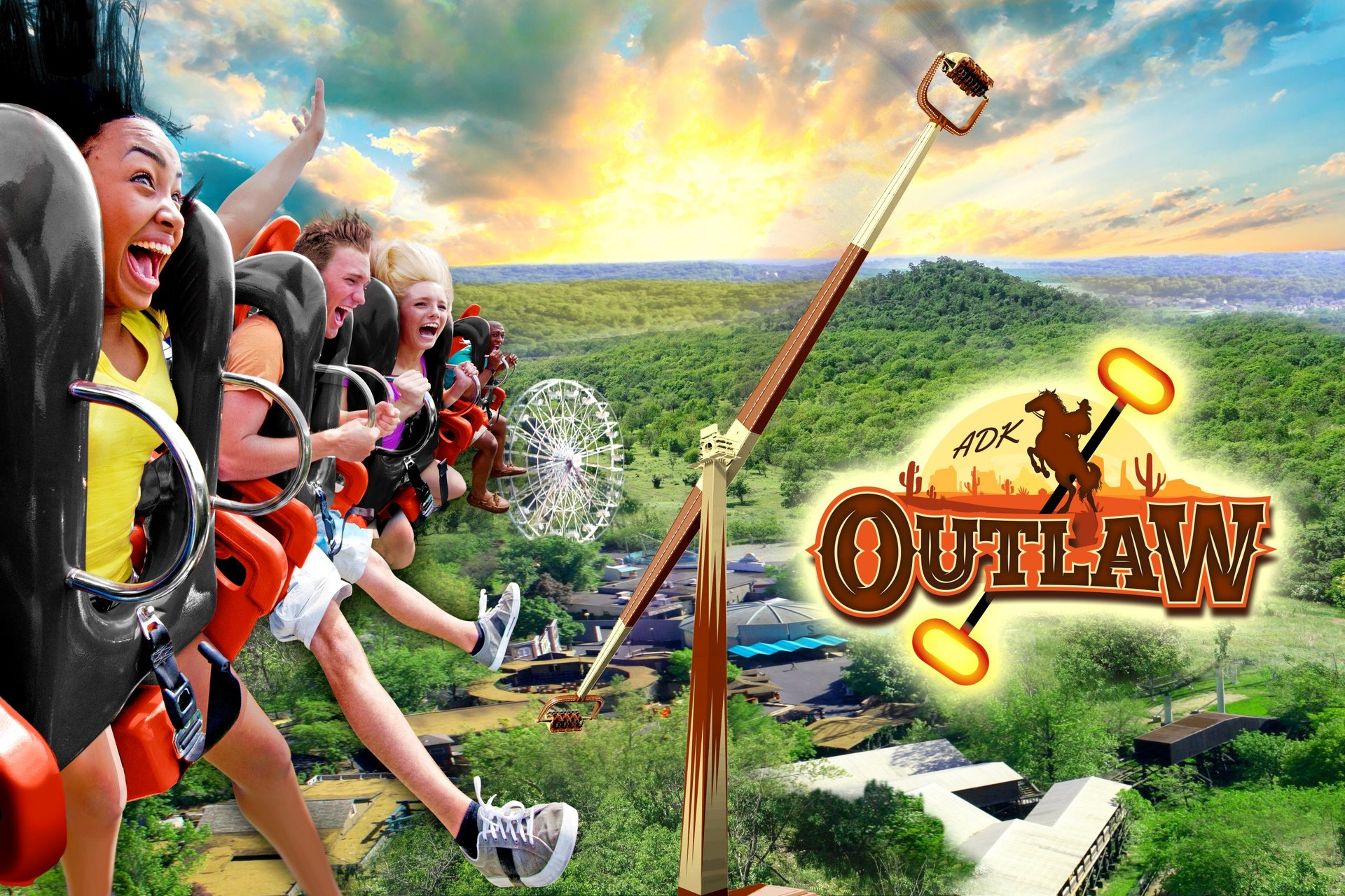 key-art-of-adirondack-outlaw-at-six-flags-great-escape-resort