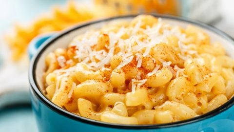 max'd out mac n cheese bowl