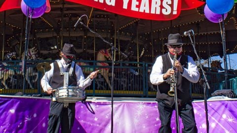 Diamond Jubilee Jazz Band at Six Flags Over Texas