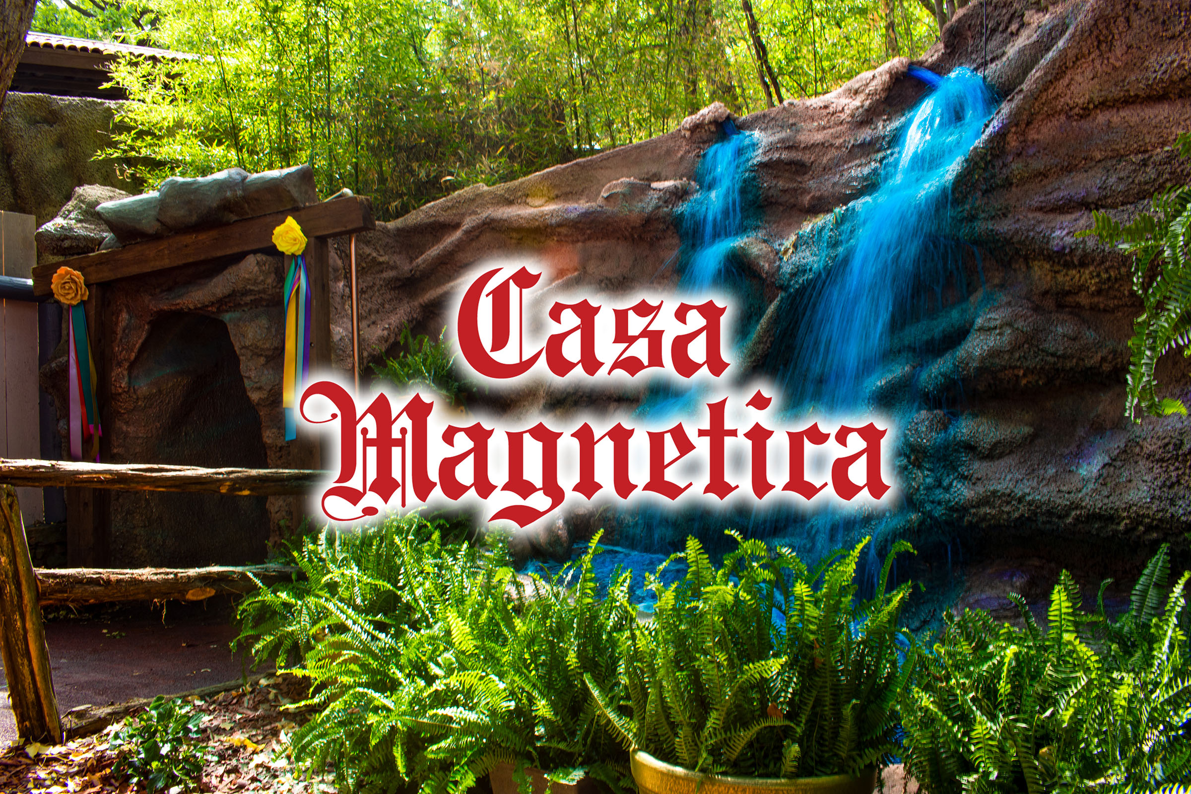 Casa Magnetica at Six Flags Over Texas