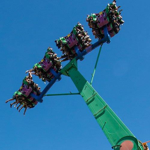 The ride Vertigo at La Ronde