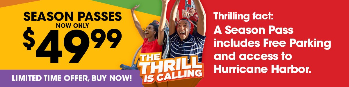 The Thrill is Calling this Summer at Six Flags