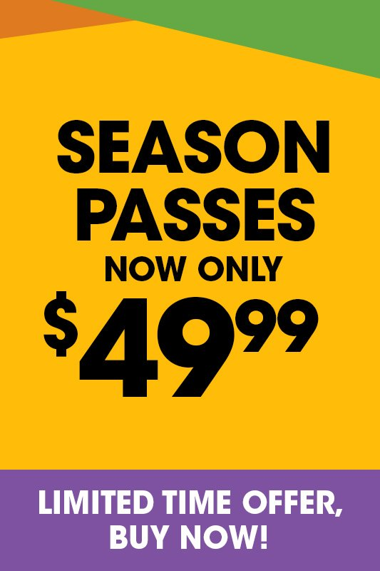 Six Flags Season Pass now only $49.99