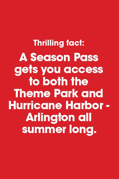 TTIC for Hurricane Harbor Los Angeles