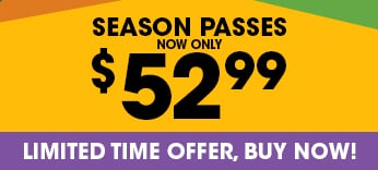 Six Flags Season Pass now only $52.99
