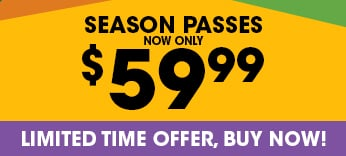 Six Flags Season Pass now only $59.99
