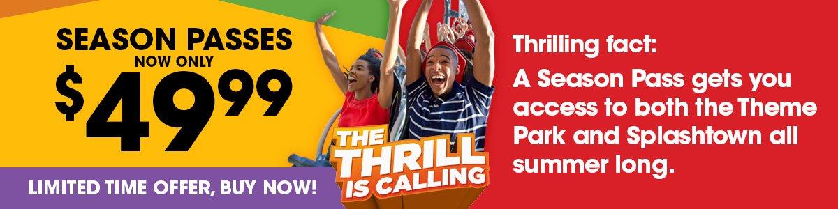 TTIC for Six Flags Darien Lake